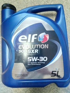 Олива ELF Evolution 900 SXR 5W-30; 5L ELF 194839