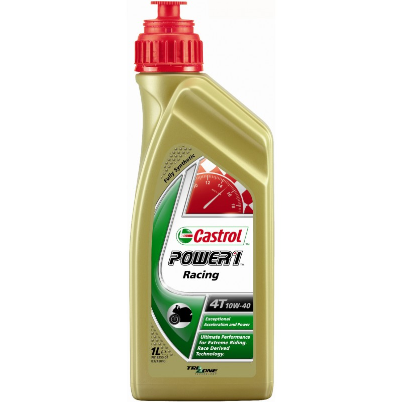 Моторное масло CASTROL 10W40RACING4T1L