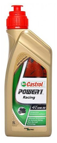 Моторное масло CASTROL 10W50RACING4T1L