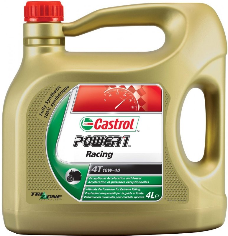 Моторное масло CASTROL 10W40RACING4T4L